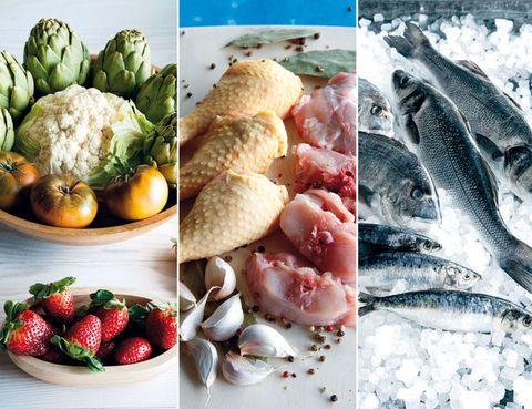 Food, Natural foods, Produce, Vegan nutrition, Ingredient, Fruit, Strawberries, Food group, Whole food, Strawberry,