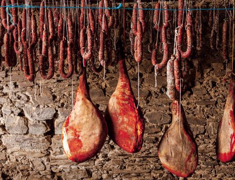 Food, Ingredient, Meat, Animal product, Carmine, Maroon, Flesh, Lamb and mutton, Red meat, Cooking,