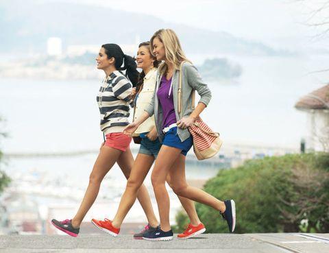 Clothing, Footwear, Leg, Human leg, Shirt, Outerwear, Leisure, Bag, Happy, T-shirt,