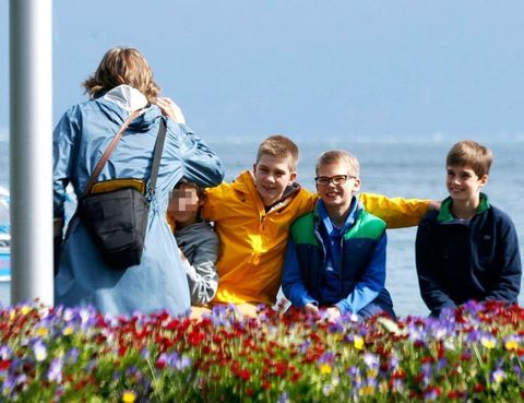 Flower, Jacket, People in nature, Travel, Groundcover, Spring, Wildflower, Annual plant, Crew, Tulip,
