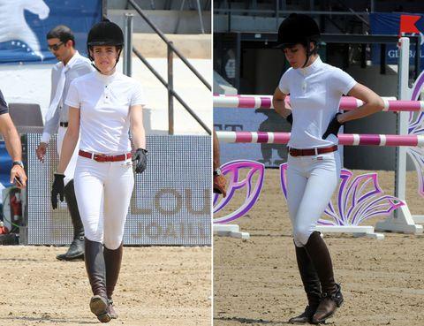 Clothing, Leg, Sports uniform, White, Pink, Style, Uniform, Purple, Baseball equipment, Waist,