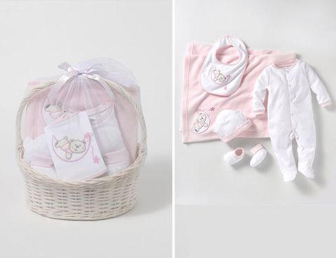 Product, Basket, Pink, Collar, Baby & toddler clothing, Wicker, Lavender, Home accessories, Storage basket, Peach,