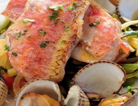 Food, Ingredient, Seafood, Cuisine, Recipe, Dish, Orange, Peach, Shellfish, Fish,