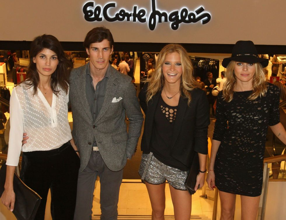 Los famosos acuden a la fiesta de moda de El Corte Inglés