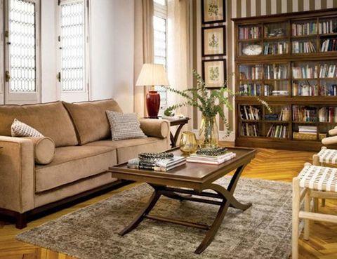 Wood, Room, Interior design, Floor, Flooring, Window, Living room, Furniture, Table, Home,