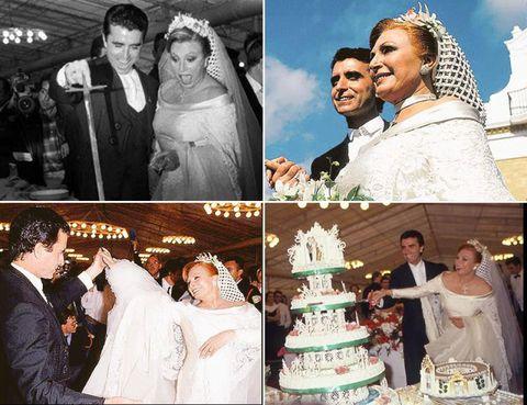 Clothing, Bridal clothing, Event, Veil, Bride, Photograph, Wedding dress, Cake, Bridal veil, Happy,