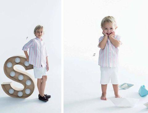 Sleeve, Child, Collar, Baby & toddler clothing, Pattern, Toddler, Child model, Pattern, Nightwear, Button,