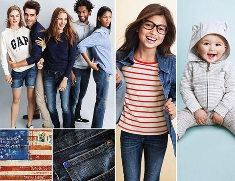 2e25ea51f El sello inconfundible de la moda americana es la clave de la firma GAP,  que a partir de este jueves 12 de marzo podemos comprar en El Corte Inglés  de la ...