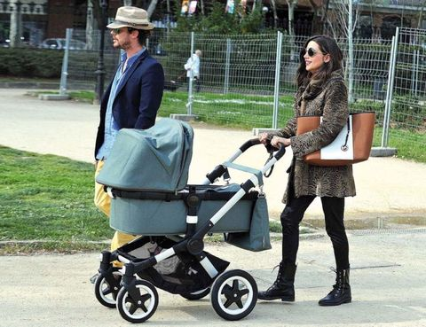 Clothing, Product, Outerwear, Baby carriage, Hat, Fashion accessory, Baby Products, Bag, Sun hat, Street fashion,