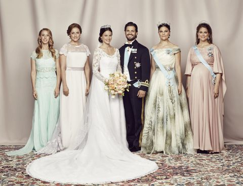 Clothing, Bridal clothing, Sleeve, Trousers, Event, Shoulder, Dress, Textile, Gown, Photograph,