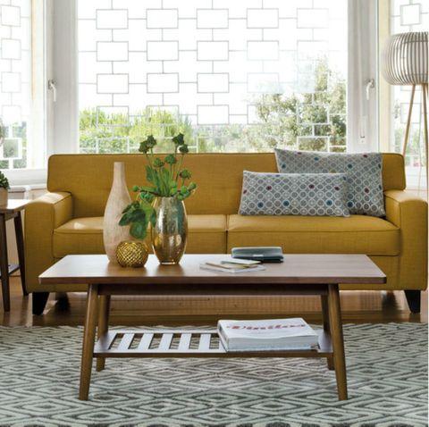 Wood, Interior design, Room, Floor, Flooring, Furniture, Table, Living room, Home, Hardwood,