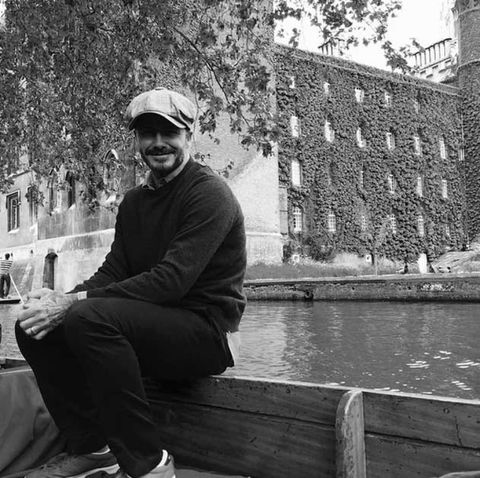 Cap, Monochrome, Sitting, Monochrome photography, Black-and-white, Goggles, Sneakers, Outdoor shoe, Walking shoe, Water feature,