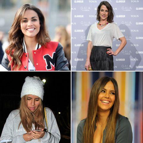 Sleeve, Facial expression, Style, Fashion, Beauty, Street fashion, Blazer, Collage, Long hair, Waist,