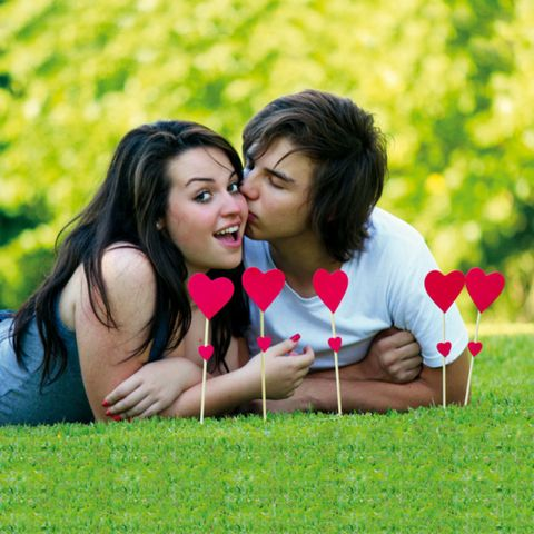 Nose, Mouth, Lip, Happy, People in nature, Facial expression, Summer, Romance, Interaction, Love,