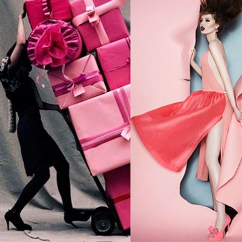 Clothing, Joint, Pink, Style, Toy, Fashion, Bag, Doll, High heels, Barbie,