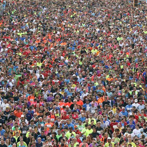 People, Crowd, Endurance sports, Colorfulness, Athlete, Audience, Racing, Running, Triathlon, Fan,