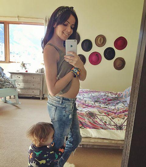 Jeans, Denim, T-shirt, Baby & toddler clothing, Pattern, Trunk, Drawer, Abdomen, Baby,