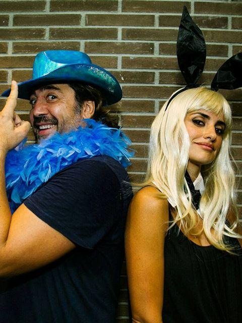 Hat, Facial hair, Costume accessory, Moustache, Beard, Electric blue, Costume hat, Costume, Blond, Sun hat,
