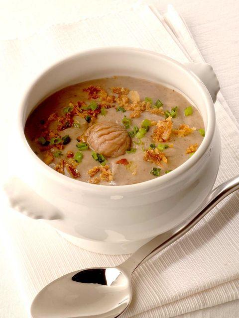 Food, Cuisine, Serveware, Soup, Dish, Dishware, Ingredient, Recipe, Kitchen utensil, Seafood,