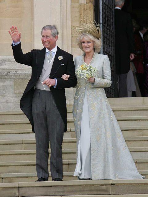 """desarchivamos las bodas de ayer: los dos """"sí quiero"""" de carlos de gales"""