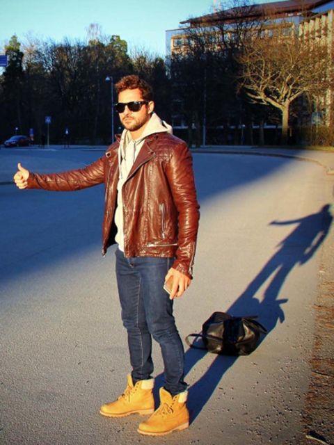 Clothing, Trousers, Denim, Jacket, Jeans, Textile, Sunglasses, Outerwear, Bag, Style,