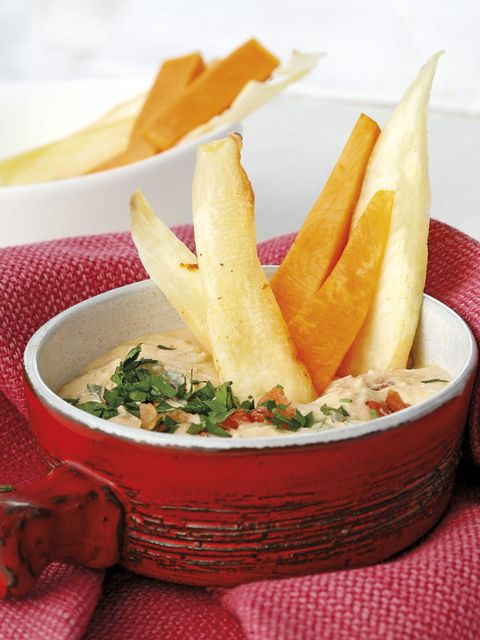 Food, Dishware, Tableware, Cuisine, Root vegetable, Dish, Recipe, French fries, Fried food, Side dish,