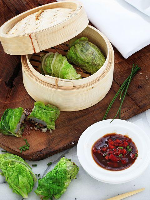 Food, Ingredient, Leaf, Leaf vegetable, Cuisine, Dish, Condiment, Whole food, Sauces, Tableware,