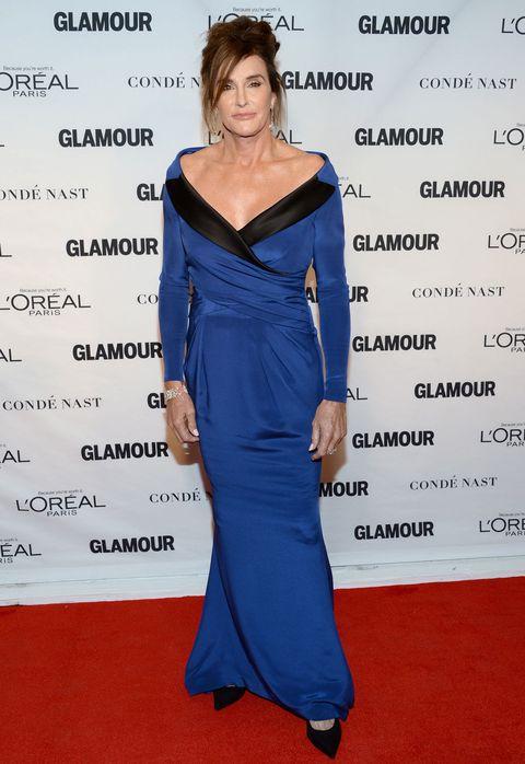 Dress, Shoulder, Joint, Flooring, Style, Formal wear, One-piece garment, Electric blue, Fashion, Carpet,