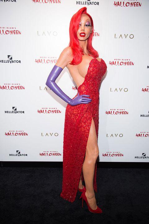 Shoe, Red, Dress, Style, Waist, Fashion, Lipstick, Fashion model, Model, High heels,