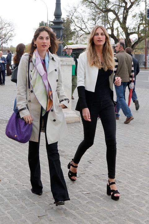 Clothing, Footwear, Leg, Trousers, Textile, Outerwear, Style, Street fashion, Bag, Fashion accessory,