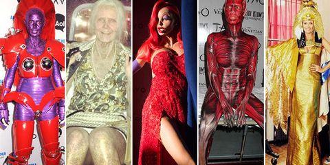 Red, Thigh, Trunk, Chest, Abdomen, Waist, Fictional character, Costume, Flesh, Stomach,