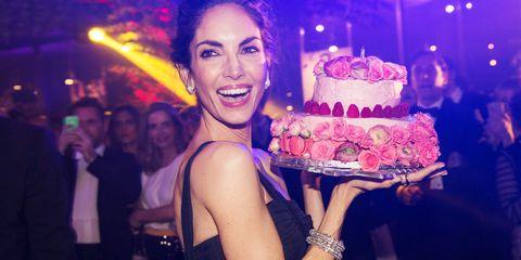 Cake, Dessert, Sweetness, Baked goods, Ingredient, Party, Cuisine, Purple, Cake decorating, Sugar cake,