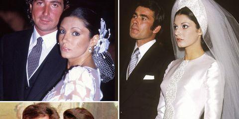 917cedee4 Desarchivamos las bodas de ayer  Carmina Ordóñez y sus tres maridos