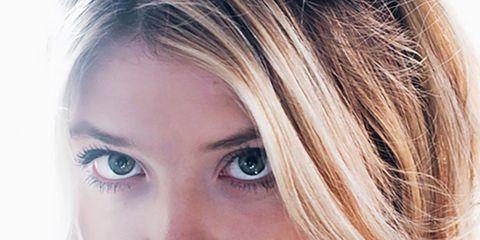 Face, Nose, Lip, Cheek, Brown, Eye, Hairstyle, Skin, Chin, Forehead,