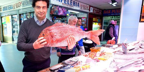 Pink, Fish, Snapper, Seafood, Selling, Fish, Flesh, Customer, Red snapper, Trade,