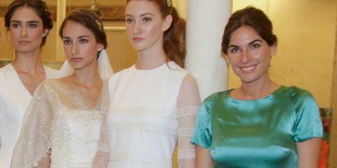 Shoulder, Textile, Dress, Joint, Formal wear, Teal, Waist, Fashion, One-piece garment, Turquoise,