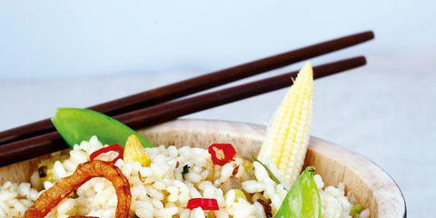 Food, Cuisine, Ingredient, Dish, Recipe, Logo, Tableware, Bowl, Meal, Staple food,