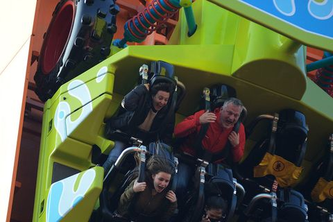 Fun, People, Social group, Recreation, Leisure, Community, Outdoor recreation, Youth, Amusement ride, Personal protective equipment,