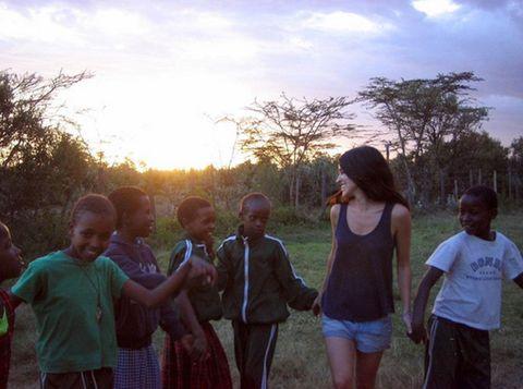 People, Child, Adaptation, Summer, People in nature, Sunlight, Rural area, Morning, Village, Sleeveless shirt,