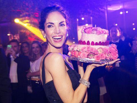 Cake, Sweetness, Dessert, Baked goods, Food, Ingredient, Cuisine, Party, Cake decorating, Purple,