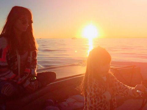 Sun, Sunrise, Mammal, Sunset, Horizon, Sunlight, Summer, Backlighting, Sea, Dusk,