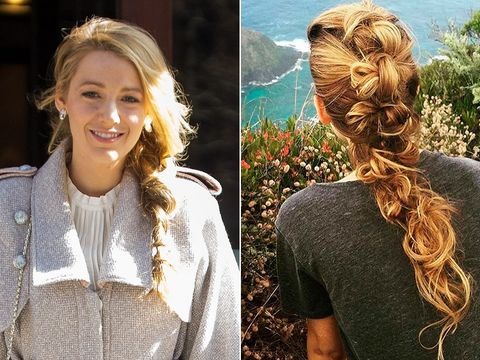 Hairstyle, People in nature, Beauty, Long hair, Brown hair, Blond, Hair coloring, Sweater, Braid, Red hair,