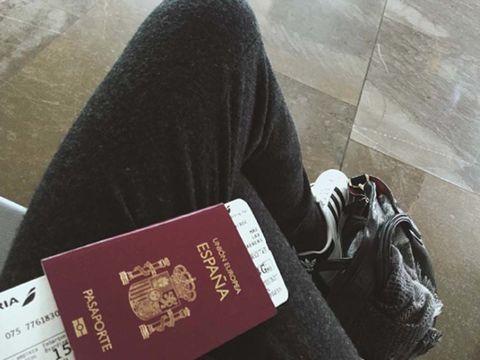 Passport, Identity document, Walking shoe, Label, Cross training shoe, Document,