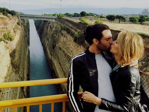 Channel, Waterway, People in nature, Romance, Interaction, Honeymoon, Love, Travel, Kiss, Bridge,