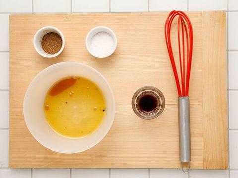 Serveware, Ingredient, Dishware, Tableware, Kitchen utensil, Liquid, Bowl, Cutlery, Peach, Dish,