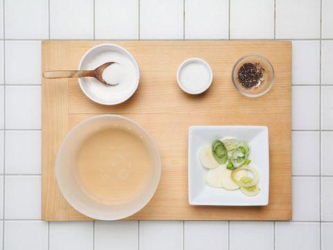 Dishware, Ingredient, Food, Serveware, Kitchen utensil, Meal, Dairy, Circle, Breakfast, Dish,