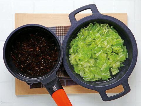 Food, Cuisine, Ingredient, Cookware and bakeware, Recipe, Vegetable, Produce, Invertebrate, Wok, Spice,