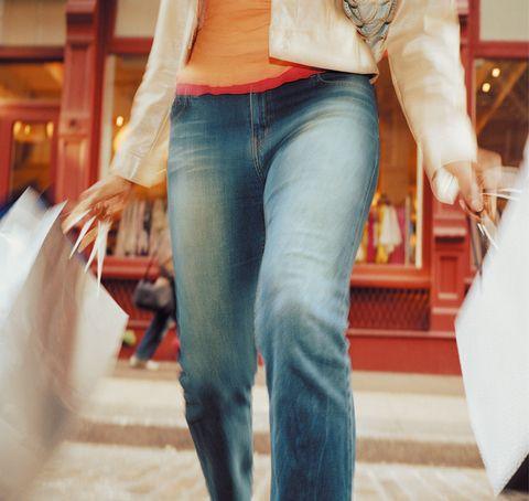 Denim, Jeans, Textile, Pocket, Floor, Waist,