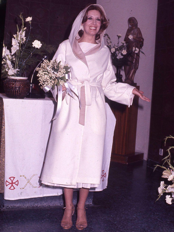 Desarchivamos las bodas de ayer: Concha Velasco y Paco Marsó