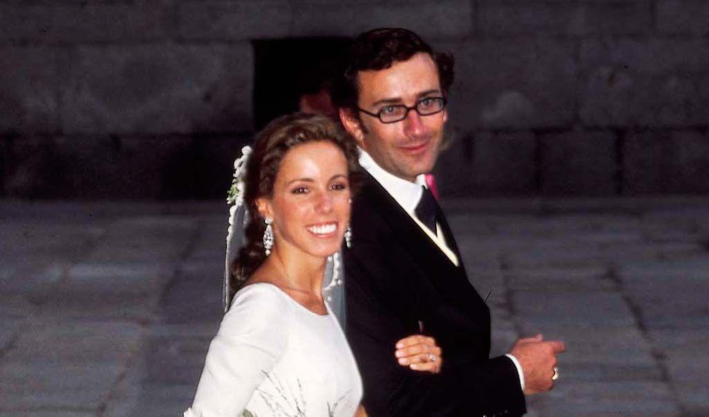 desarchivamos las bodas de ayer: ana aznar y alejandro agag